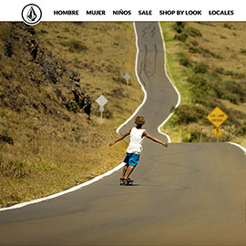 Volcom (by Etail) - Diseño ecommerce